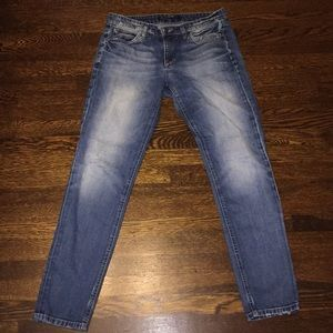 Joe's denim wash slim jeans